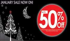 January Sale Now Started - Up to 50% off @ Menarys