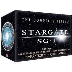 Stargate SG-1 - Season 1-10 - Complete/The Ark Of Truth/Continuum [DVD] - £85.37 @ Amazon.co.uk