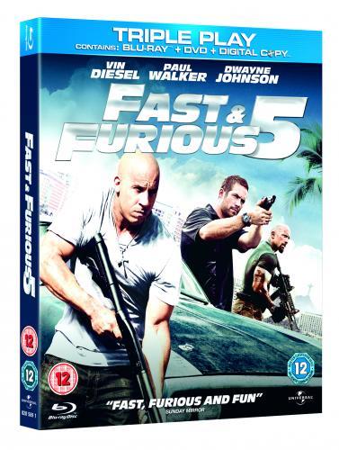 Fast & Furious Five Triple Play Blu-ray - £6 instore at Blockbuster