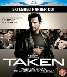 Taken (Extended Harder Cut) (Blu-ray) (New/Sealed) - £5.99 delivered @ Gamestation