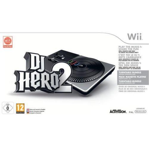 DJ Hero 2 wii inc.Turntable £14.99  Delivered @ Zavvi Ebay Outlet