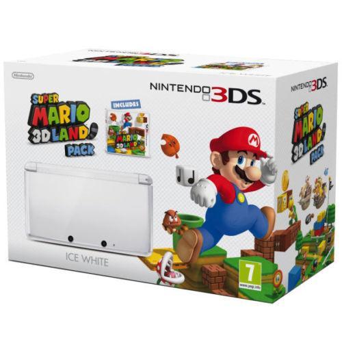 Nintendo 3DS Console (Ice White) & Super Mario 3D Land - £144.99 delivered @ zavvi_outlet (eBay)