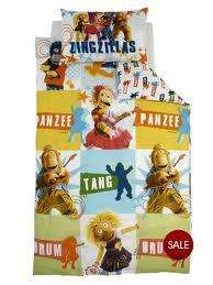 Zingzillas Single Bed Duvet Cover and Pillowcase Set - Very £5