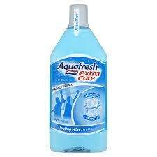 Aquafresh Tingling Mint Mouthwash 500ML £2.99 Buy 1 get 2 free!! @ Superdrug!!