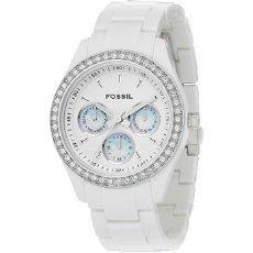 British Watch Company Ladies Fossil Stella White Diamonte Watch FREE P+P. £73.50.....RRP £95