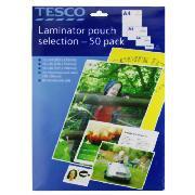 A3 laminator pouches £1 for 25 @ tesco