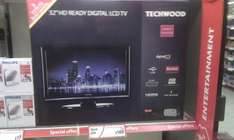 """Techwood 32"""" LCD television Instore £189.00 @ Morrisons"""