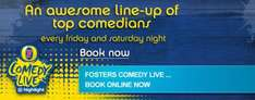 Highlight Comedy £10 for Ticket, Drink & Main Meal
