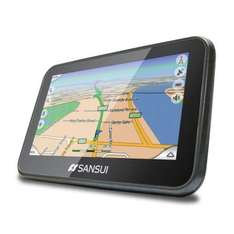"Sansui 4.3"" Satellite GPS Navigation System £40 delivered from Box.co.uk"