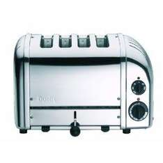 Dualit 4 slice Polished Stainless Steel Toaster £119.98(inc VAT) at Costco