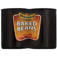 Branston Baked Beans 4 x 410 g (Pack of 6) £5.40 subscribe and save or £6 Amazon