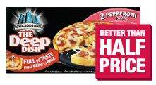 Chicago Town Deep Dish Pizzas - £1 @ Co-Operative