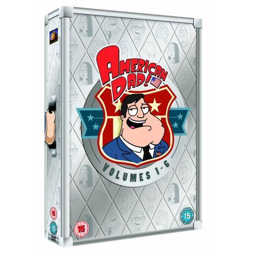 American Dad! - Volumes 1-6 [DVD Boxset] - £30.97 Delivered @ Amazon