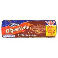 McVities Digestive Milk Chocolate 400g 87p @ Tesco In-Store and online