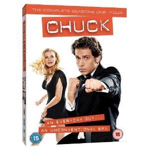Chuck: Seasons 1-4 (25 DVD Boxset) £17.99 @ Amazon UK