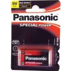 Panasonic Zinc Carbon - PP3 9V -  10p delivered @ Amazon Marketplace (Mopodo UK)