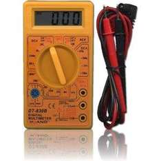 Digital Multimeter LCD Screen With Test Leads £2.99 Delivered @ Amazon Marketplace (Electro Market)