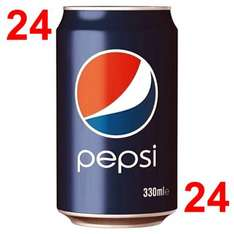 24 X Pepsi - £4.56 - Lidl ( 19p a can )