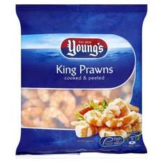 Youngs King Prawns cooked & peeled 170g £1 @ Morrisons in-store