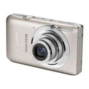 Amazon:  Canon IXUS 115 HS Digital Camera - Silver (12.1MP, 4x Optical Zoom) 3.0 inch LCD