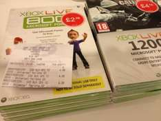 1200 Microsoft Points @ GAME Instore £4.98