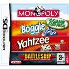 EXPIRED Monopoly/Boggle/Yahtzee/Battleships Nintendo DS Compilation £12.99 delivered at powerplay direct