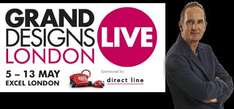 2 Free Tickets To Grand Design Live (weekday tickets only)