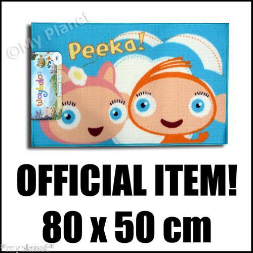 Waybuloo Peeka Kid's CBeebies Rug 80 x 50cm Only £2.99 delivered @ My Planet Wholesale- eBay