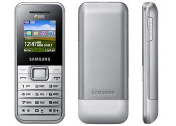 Samsung Dual Sim Mobile Phone SimFree E1182 Silver/White £24.99 - 88p Quidco @ Play