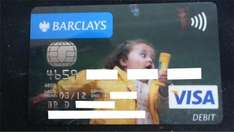 Free Personalised Debit Card @ Barclays