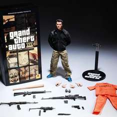 GTAIII Anniversary Limited-Edition Claude Action Figure (Limited to 1500 Units) - Now 15% Off - £97.75 + £9.99 P&P @ Rockstar Warehouse