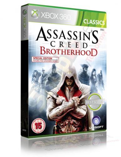 Assassins Creed Brotherhood Classics (Xbox 360) - £9.85 @ Shopto.net