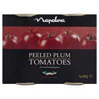 Napolina chopped/plum tomatoes 4 pack £1.50 at Asda online and instore