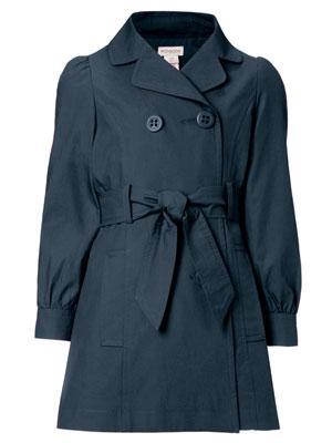 Navy Blue Monsoon Girls Coat £15 @ Monsoon