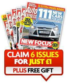 26 Piece Tool Kit for only £1 & 6 issues of Auto Express - No P&P