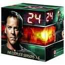 24 Complete Seasons 1-6 (41 Discs) Box Set £99.99 Delivered From HMV (+ 9% Quidco)