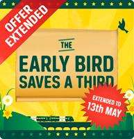 34% Off Southern Advance train tickets booked online before 13 May