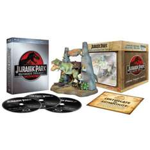 Jurassic Park Trilogy: Limited Collector's Edition (T-Rex Model) Blu-ray £30.95 @ The Hut/Zavvi