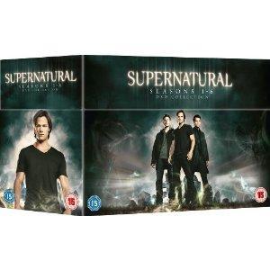 Supernatural Seasons 1-6 DVD Box Set £34.99 @ Amazon UK