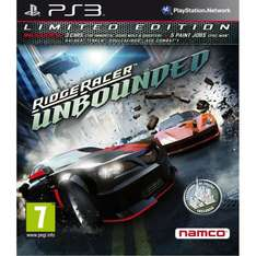 Ridge Racer Unbounded - Limited Edition PS3/360 £19.97 @ Amazon