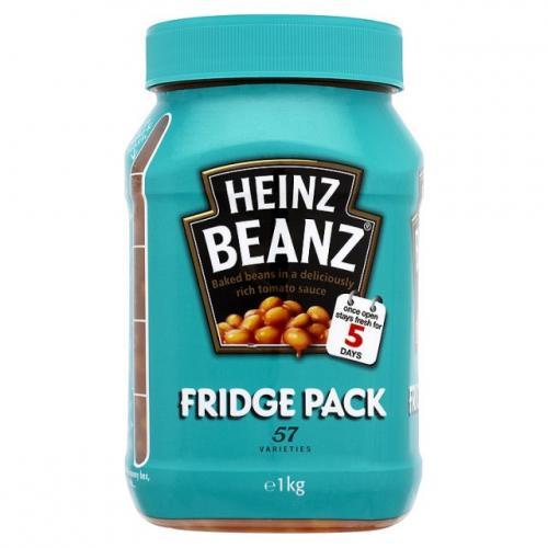 Heinz Baked Beans Fridge Pack 1KG - 96p - Tesco