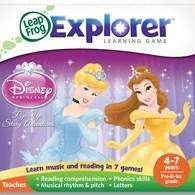 Leapfrog Leapster/LeapPad Explorer Disney Princesses Game - 13.27 Amazon Free Delivery