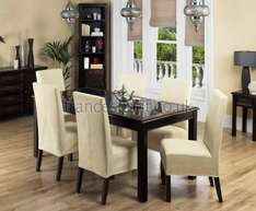 Jafar Mango Wood Dining Table and 4 Chairs for £449.55 (Using Code) @ Frances Hunt