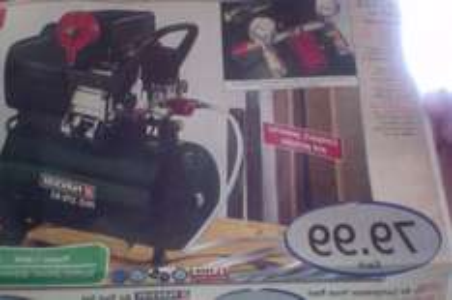 parkside 2.5hp air compressor £79.99 : Lidl