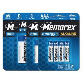Memorex Extra Value Variety Battery Kit  68 Packs of batteries £24.99 @ ebuyer