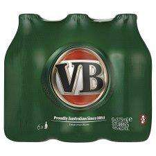 VB Australian Lager 6x375ml £3.79 @ B&M Bargains