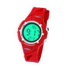 Umbro U531 Youth's Red Digital Watch Set With Matching Red Wash Bag  £7.99 @ Watch Town Ltd (Fulfilled by Amazon)