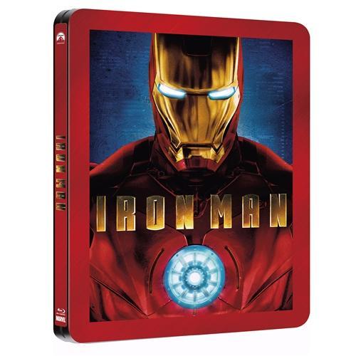 Iron Man and Iron Man 2: Paramount Centenary Edition (Play.com Exclusive Steelbook) (Blu-ray) - £10.99 Each