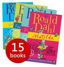Roald Dahl Collection-15 books for £15.99 delivered using promotion code at The Book People