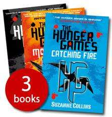 The Hunger Games Trilogy (Paperback) £4.99 for the 3 books FREE DELIVERY @ The Book People